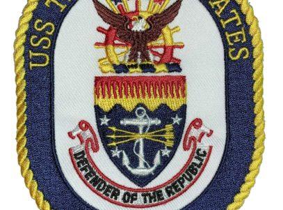 USS THOMAS S. GATES CG-51 Patch – Sew On