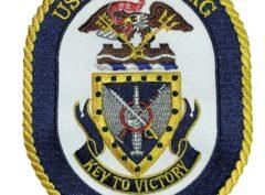 USS VICKSBURG CG-69 Patch – Sew On