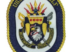 USS VELLA GULF CG-72 Patch – Sew On