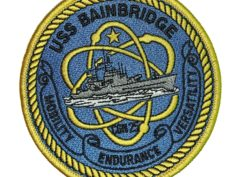 USS BAINBRIDGE CGN-25 Patch – Sew On