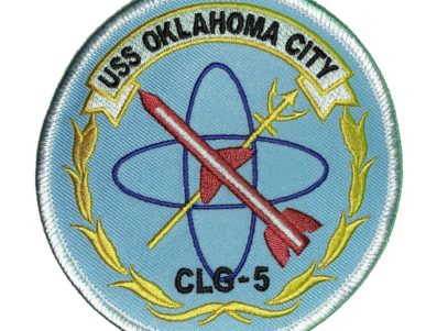 USS OKLAHOMA CITY CLG-5 Patch – Sew On