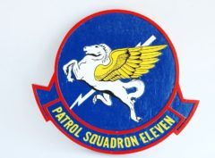 VP-11 Proud Pegasus Plaque