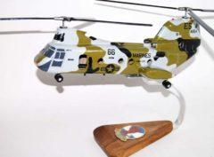 HMM-266 Fighting Griffins 1987 CH-46 Model
