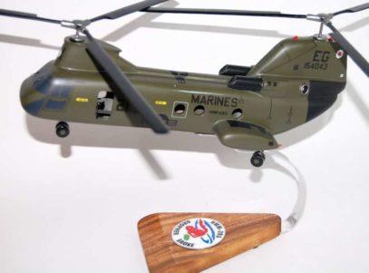 HMM-263 Gopher Broke CH-46 Model