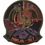 HML/A-167 Warriors Squadron Patch – Sew On
