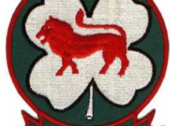 HMM-363 Lucky Red Lions Patch –Sew On