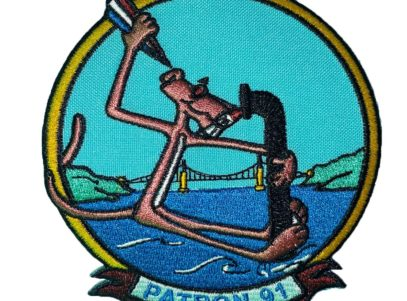 VP-91 Pink Panther Patch – Sew On
