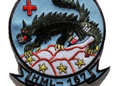 HML-167 Warriors Original Remake Patch – Sew On