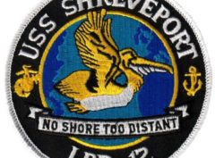 USS SHREVEPORT LPD-12 Patch – Sew On