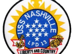 USS NASHVILLE LPD-13 Patch – Sew On