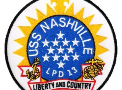 USS NASHVILLE LPD-13 Patch – Sew On