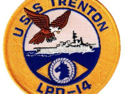 USS TRENTON LPD-14 Patch – Sew On