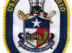 USS SAN ANTONIO LPD-17 Patch – Sew On
