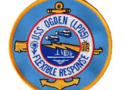 USS OGDEN LPD-5 Patch – Sew On