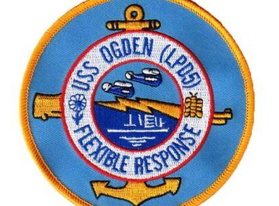USS OGDEN LPD-5 Patch – Sew On