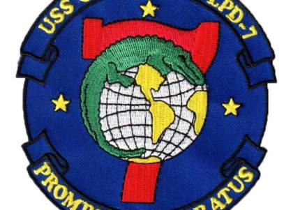 USS CLEVELAND LPD-7 Patch – Sew On