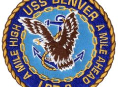 USS DENVER LPD-9 Patch – Sew On