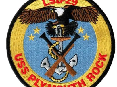 USS PLYMOUTH ROCK LSD-29 Patch – Sew On
