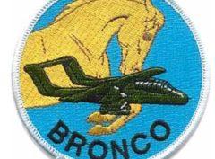 OV-10 Bronco Squadron Patch –Sew On