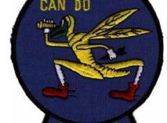 VMO-1 1943 (Dark Blue) Squadron Patch –Sew On
