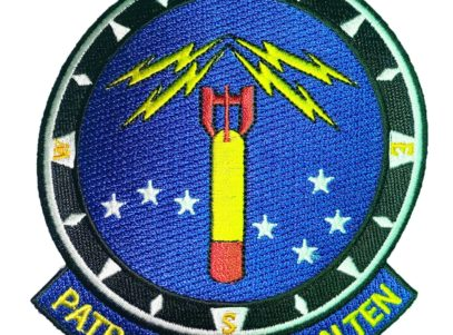 VP-10 Red Lancers Squadron Patch – Sew On
