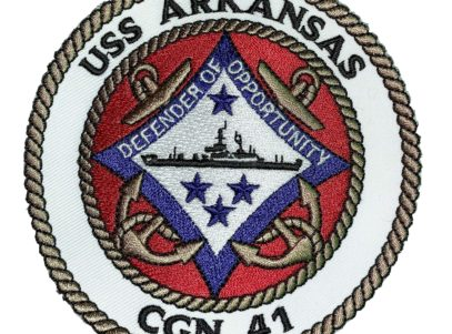 USS ARKANSAS CGN-41 Patch – Sew On