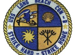 USS LONG BEACH CGN-9 Patch – Sew On