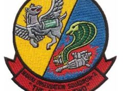 "VMO-2 ""The Angry Two"" Squadron Patch –Sew On"