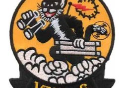 A 3.5 to 4.5 inch squadron patch of the VMO-6 Tomcats.