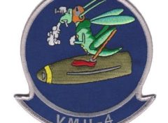 VMU-4 Squadron Patch - Sew On