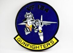 VF-124 Gunfighters (1990) Plaque