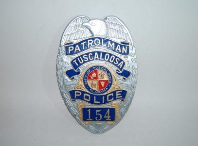 Tuscaloosa Police Dept Patrolman Badge