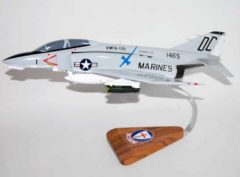VMFA-122 Crusaders F-4b 1971 Phantom Model