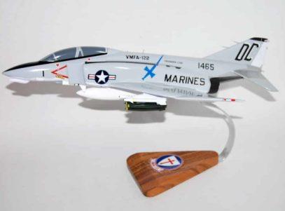 VMFA-122 Crusaders F-4b 1971 Phantom Model