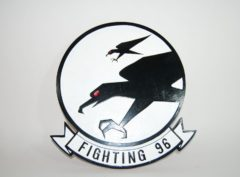 VF-96 Fighting Falcons Squadron Plaque