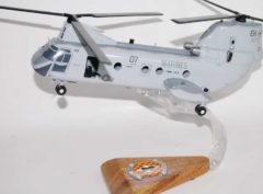 HMM-264 Black Knights CH-46 Model