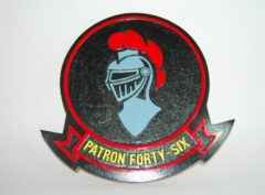 VP-46 Grey Knights Plaque
