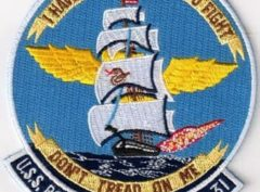 USS Bon Homme Richard (CVA-31) Patch – Sew On