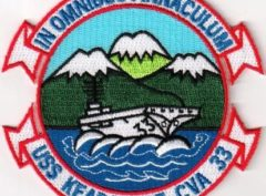 USS Kearsarge (CVA-33) Patch – Sew On