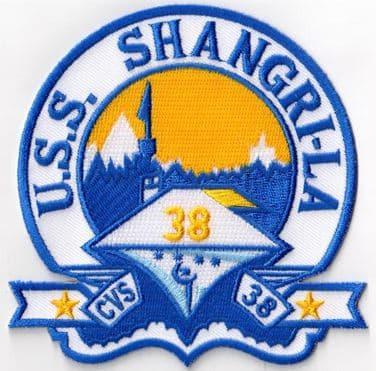 USS Shangri-La CVS-38 Patch - Sew On