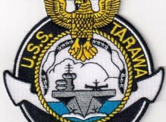 USS Tarawa (CVS-40) Patch - Sew On