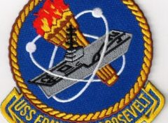 USS Franklin D. Roosevelt (CV-42) Patch – Sew On