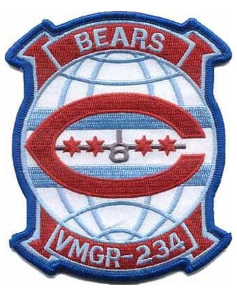 VMGR-234 Bears Squadron Patch