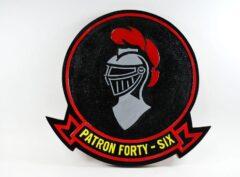 VP-46 Grey Knights Plaque