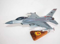 107th Fighter Squadron F-16 Fighting Falcon Model
