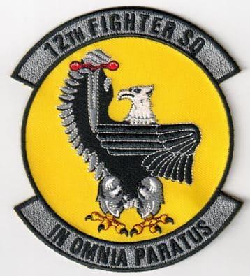 12th Fighter Squadron In Omnia Paratus
