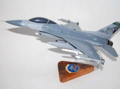 138th Fighter Squadron F-16 Fighting Falcon Model