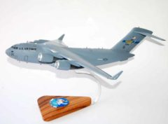 183d Airlift Squadron Mississippi ANG C-17 Model