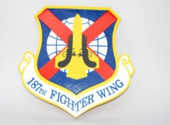 187th Fighter Wing Plaque