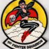1st Fighter Squadron Patch – Sew On